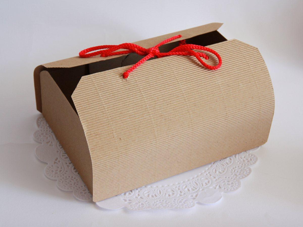 Как сделать крафт коробку 691
